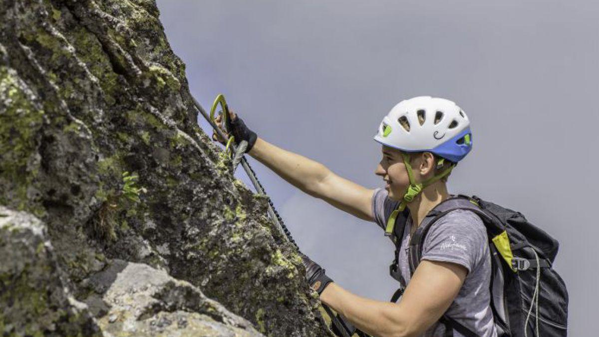 Klettersteig Für Kinder : Mit kindern am klettersteig lebensart reisen