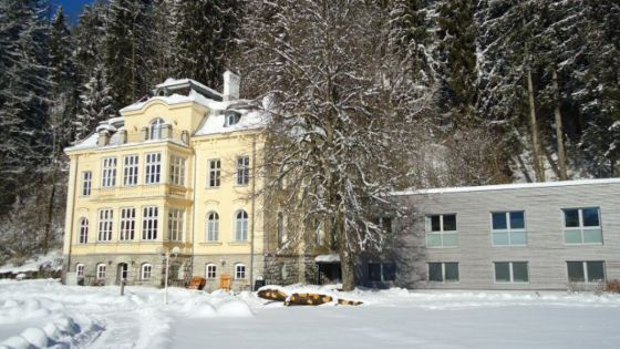 Villa Sonnwend im Winter