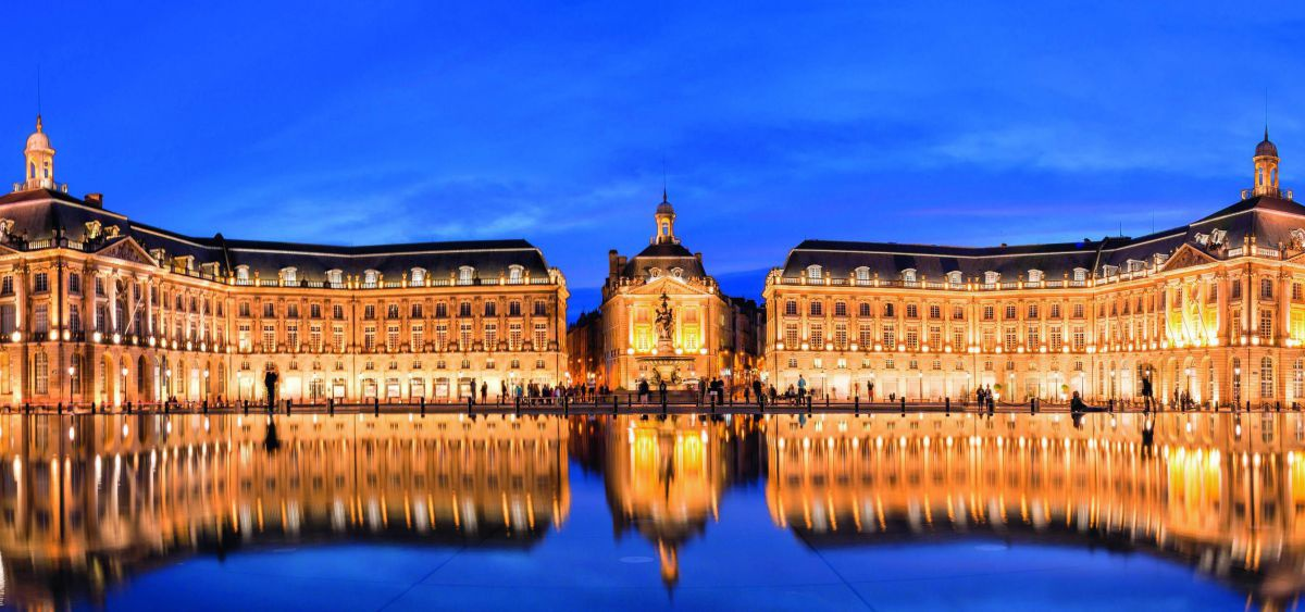 Schlossanlage in Bordeaux.