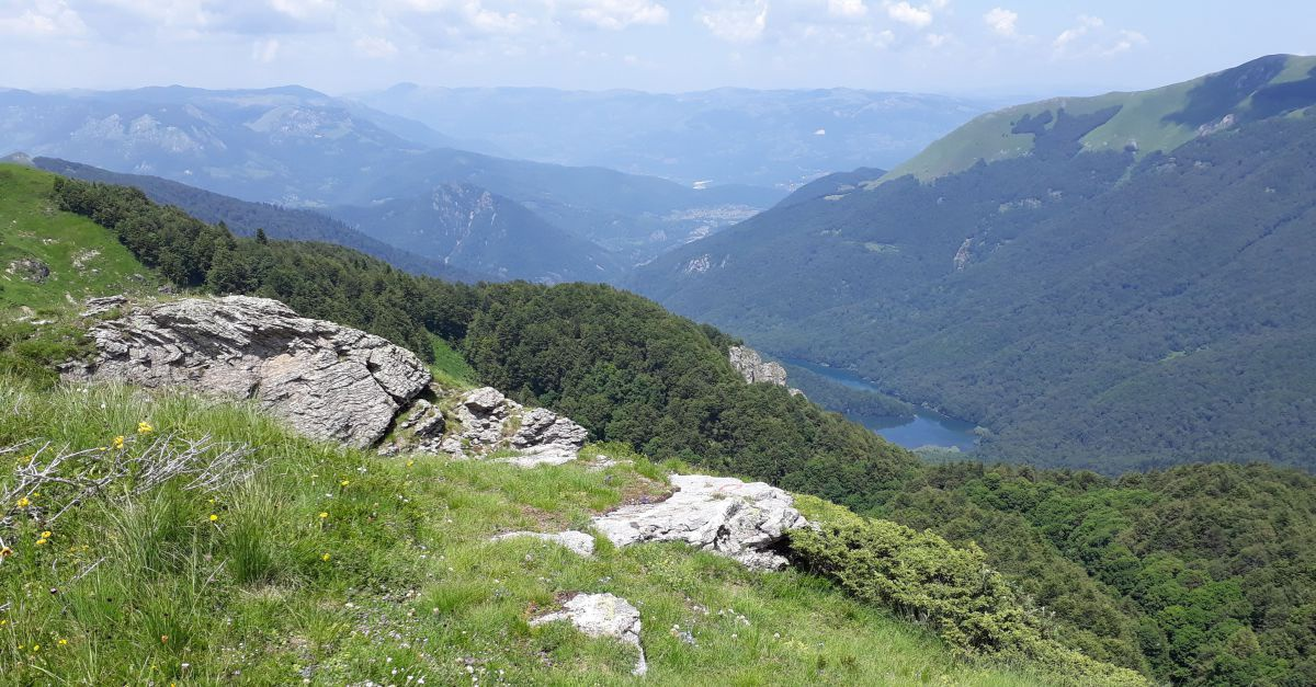 Nationalpark Biogradska Gora mit Blick hinunter aug den Biogradska See.